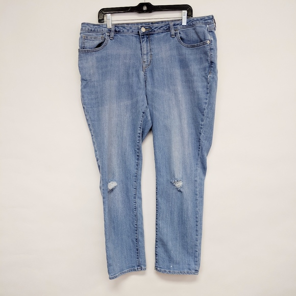 Old Navy Denim - old navy | boyfriend straight denim jeans sz 16